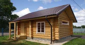 Деревянные бани из бревна: быстро, удобно, надёжно